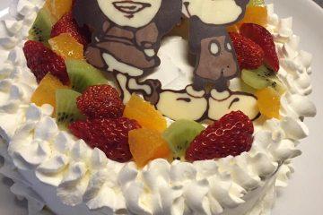 送別会も似顔絵ケーキでサプライズ!!