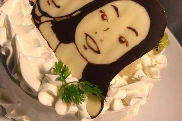 サプライズ!!似顔絵ケーキ