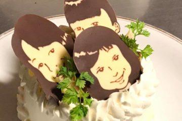 似顔絵ケーキ複数いても大丈夫!!