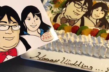 忘れられない思い出に世界に1台の似顔絵ケーキを!!