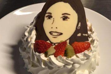 似顔絵ケーキ!!